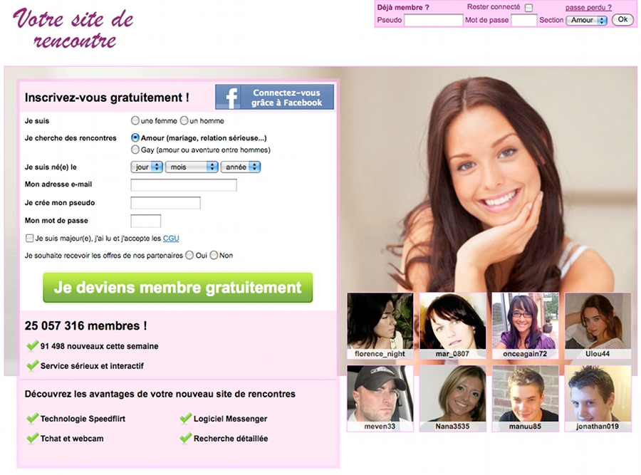 Site de rencontre lovelee